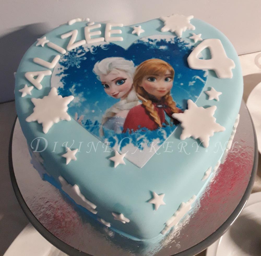 Divine Cakery Frozen taart